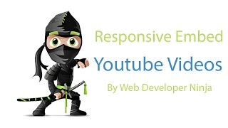 Responsive Web Design - How to embed youtube videos.