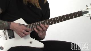 United Stringdom w/Jacky Vincent - Combining Sweep Picking and Fretboard Tapping - May 2013