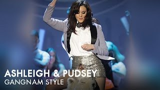 Ashleigh and Pudsey do Gangnam Style at the 2013 NTAs
