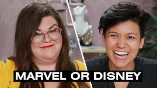 Jen And Kristin Find Out If They're Marvel Or Disney • Ladylike