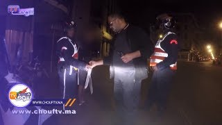 فيديو حصري..لحظة مطاردة شفار هاز 2 جناوة فكازا بالليل