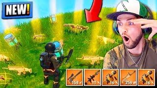 *NEW* LEGENDARY GUNS ONLY in Fortnite: Battle Royale! (SOLID GOLD)
