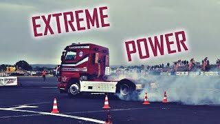 Maci: 1000+hp Scania V8 Biturbo BURNOUT & DRAG