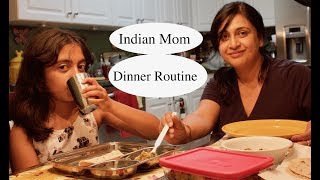 Indian Mom Night Dinner Routine | What I Eat In Dinner  | Simple Living Wise Thinking