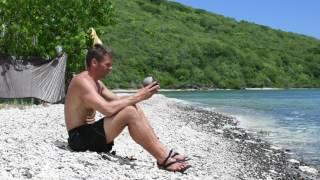 Snake Island Survival Adventure - Day 4: Rain and the Green Dinosaur
