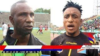 APRES COUP D AFRIQUE LES JOUEURS LEOPARDS INVITE CONGO ELENGI GRACE MBIZI BA LELI BA DJEPP BAZUIE TE