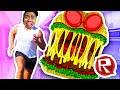 Escaping A Giant Burger! | Roblox