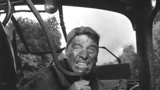 Burt Lancaster (The Train 1964) Chased by Spitfire