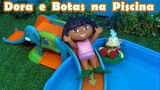 Dora e Botas na Piscina - Dora Explorer and Boots in the swiming pool
