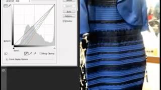 لون فستان حير العالم