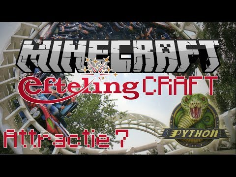 Minecraft EftelingCraft - De Python - Attractie 7
