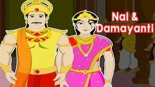 Nal And Damayanti Story | Mahabharata | Animated Stories For Children | Part 2 | Masti Ki Paathshala