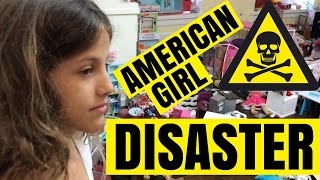 American Girl Room Disaster - World's Messiest AG Room
