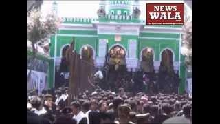 Bibi Ka Alam on Youm E Aashoora from Bibi Ka Alawa to Chaderghat on Muharram 2014