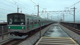 【埼京線】 205系 遅延快速 100km/h?通過