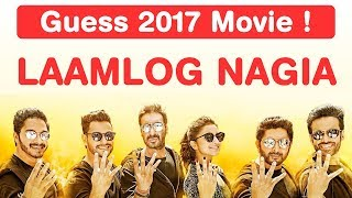 Bollywood 2017 Jumble Challenge! Guess Movies in 8 seconds