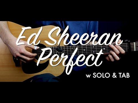 Ed Sheeran - Perfect guitar Lesson Tutorial w SOLO & TAB guitar Cover & chordsHow to play
