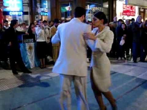 Tango de rua Buenos Aires Rua Florida 3