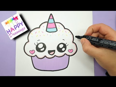 Xxx Mp4 HOW TO DRAW A CUTE CUPCAKE UNICORN SUPER EASY AND KAWAII 3gp Sex