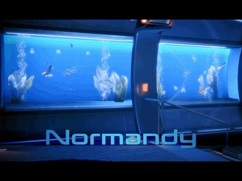 Mass Effect 3 - Normandy: Captains Cabin (1 Hour of Ambience)