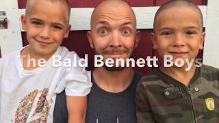 🤕🤕7 yr old SHAVES HIS OWN HEAD / BUZZCUT GONE WRONG‼️‼️