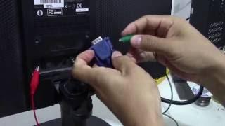 COMO REPARAR MONITOR LED ENCIENDE Y NO DA VIDEO