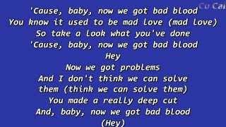 Bad Blood Taylor Swift Lyrics With Music
