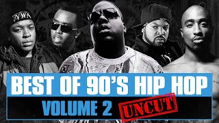 90's Hip Hop Mix #02 | Best of Old School Rap Songs | Throwback Rap Classics | Westcoast | Eastcoast