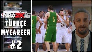 NBA 2K16 MyCAREER #2 | İlk Lise Maçı - Kolej Teklifleri (Türkçe - 60 FPS)