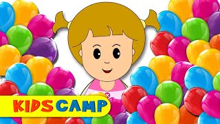Learn colors With Finger Family Nursery Rhymes Songs Eva