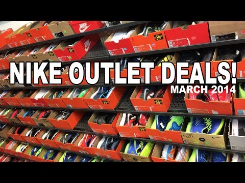 Nike Factory Store Steals & Deals! March 2014