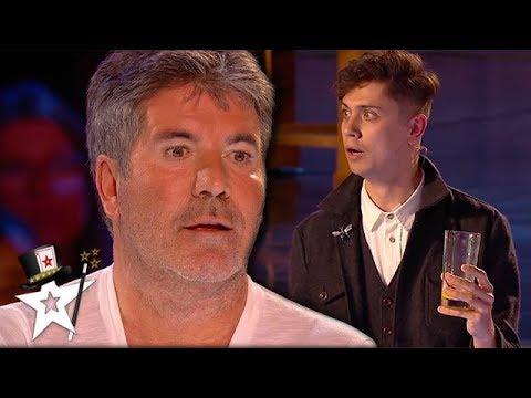 Simon Cowell Can t Believe His Eyes Magician SHOCKER on BGT 2019 Magicians Got Talent
