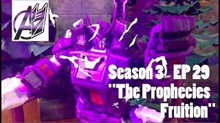 Transformers Prime Legacy EP 29 [Galvatron vs Predaking] Stop Motion