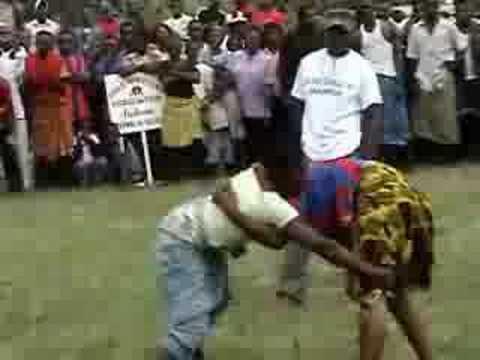 Women s Bakweri Traditional Wrestling