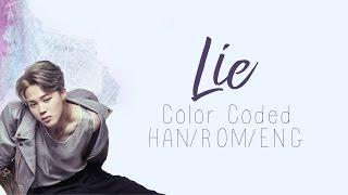 BTS (방탄소년단)   Jimin (지민) - Lie (Color Coded Hangul/Rom/Eng Lyrics)