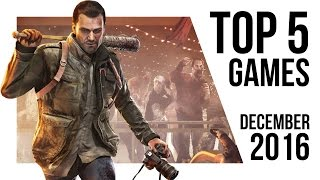TOP 5 NEW VIDEO GAMES - December 2016