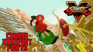Cammy barefoot Mod Fights!   Cammy barefoot Mod   Street Fighter V barefoot fights