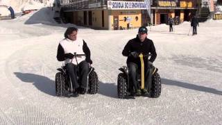 Paolo Badano Genny mobility - snow segway wheelchair