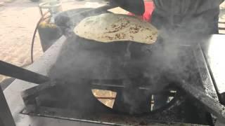 Vegetarian Soya kebabs and Ulte tawe ka paratha, a Lucknow favourite