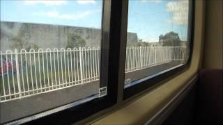 Queensland Rail EMU 86 - Ipswich via City Service