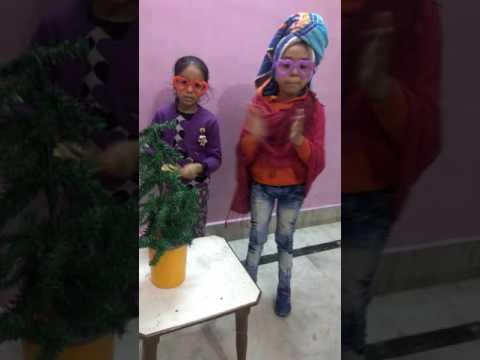 Pammi Aunty  #Sarla penji# Christmas di Aarti #