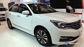 All New 2016 DFM A60 - Exterior And Interior Walkaround - 2016 Moscow Automobile Salon
