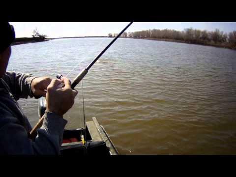 судак на джиг весной с лодки видео