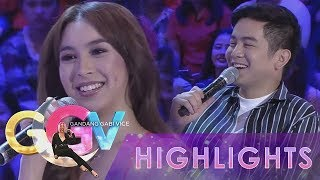GGV: JoshLia asks questions to KathNiel, JaDine and LizQuen