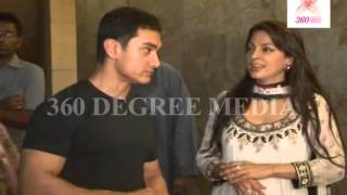Aamir Khan Juhi Chawla Praising each other for their performance in film