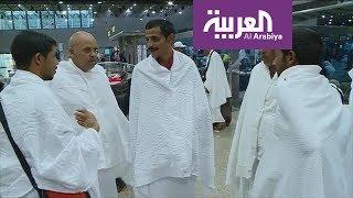 حجاج أسر شهداء مصر يغادرون لأداء المناسك
