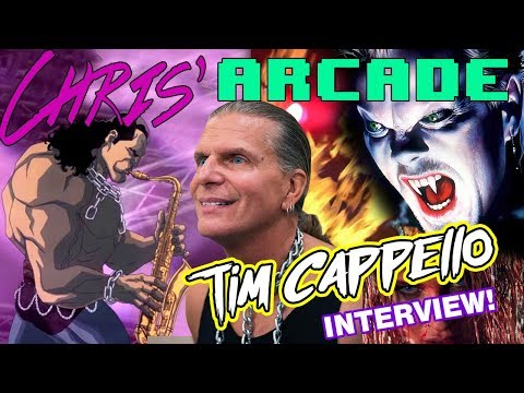 The Lost Boys' Sexy Sax Man, Tim Cappello - Exclusive Interview!
