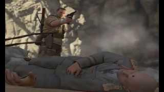 Sniper Elite 3, Latte Factory, Last Scene of last Stage!!!