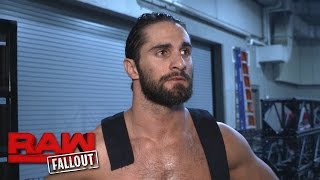 Seth Rollins will match Samoa Joe's intensity at WWE Payback: Raw Fallout, April 24, 2017