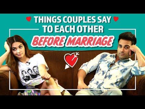 Xxx Mp4 Things Couples Say To Each Other Before Marriage Ft Kriti Kharbanda Pulkit Samrat 3gp Sex